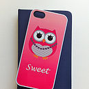 Personalised Owl Case For IPhone/IPod Touch