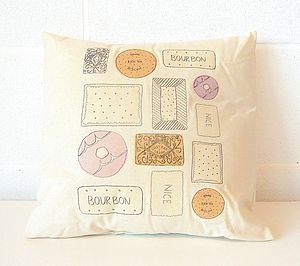Mixed Biscuit Cushion