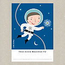 Astronaut Children's Bookplates