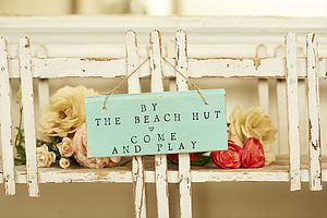 Beach Sign - home accessories