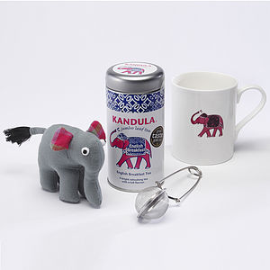 Love Elephants, Love Tea Graduation Gift Set