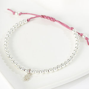 Four Leafed Clover Friendship Bracelet