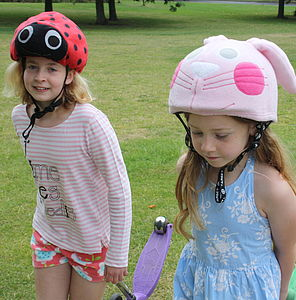 Child's Ladybird Hi Vis Helmet Cover - outdoor toys & games