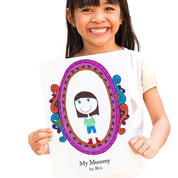 Personalised 'Mummy' Frame Card