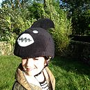 Child's Shark Hi Vis Helmet Cover