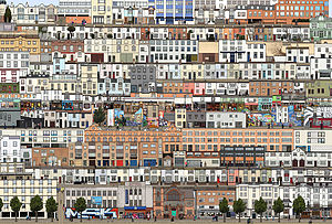 The Streets Of Brighton Print - contemporary art