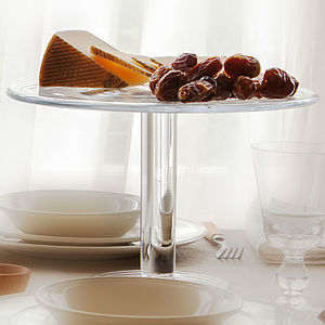 Glass Cake Stand - kitchen accessories
