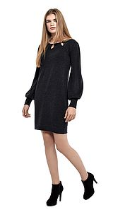 Bell Sleeve Dress By Ronit Zilkha - dresses