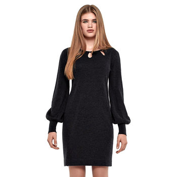 Bell Sleeved Day Dress