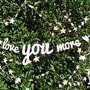 'Love You More'