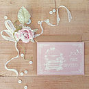 25 Pastel Birdcage Wedding Invitations