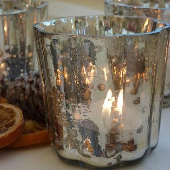 Mercury Tea Light Holder