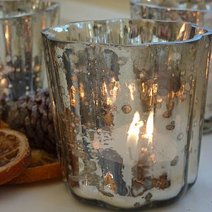 Mercury Tea Light Holder - home accessories