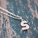 Personalised Chunky Letter Necklace