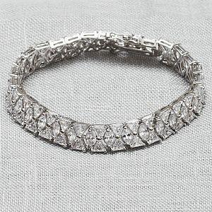 Art Deco Vintage Style Crystal Bracelet