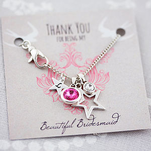 Personalised Swarovski Charm Necklace - necklaces & pendants
