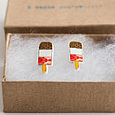 I Think You're,,, Fab! Fab Ice Lolly Earrings