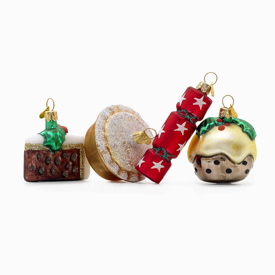 little eng xmas christmas decorations by bombki ...