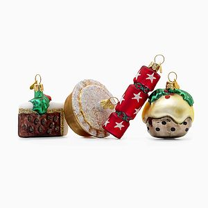 Little Eng Xmas Christmas Decorations - tree decorations