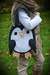 Child's Penguin Handbag - more