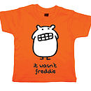 Personalised Boy's Monster T Shirt