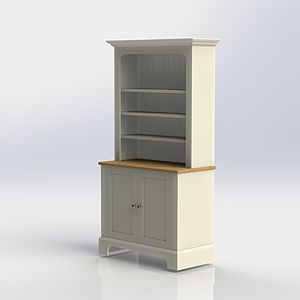 Pilsley Bookcase Available In Two Sizes