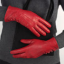 Kate Gloves Red