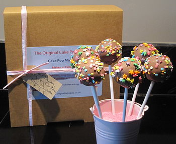 Cake Pop Making Kit   Pastel Sprinkles