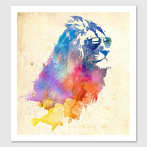 Sunny Leo Art Print - graphic art prints