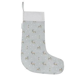 Stag Christmas Stocking - stockings & sacks