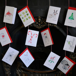 Pack Of Christmas Cards - cards & wrap
