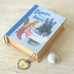 Beauty And The Beast Book Box - children's room accessories