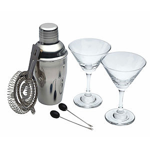 Six Piece Mini Martini Cocktail Set - kitchen