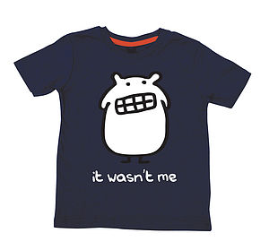 'It Wasn't Me' Child's T Shirt - clothing