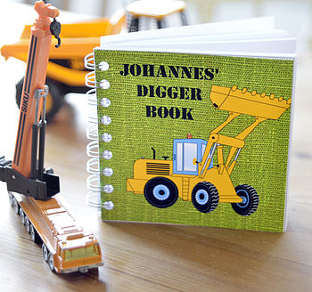 Boys Digger Notebook