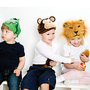 animal dressing up fun in play
