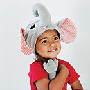elephant dressing up set for children