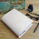 A Luxury Leather Diary And Journal Sleeve