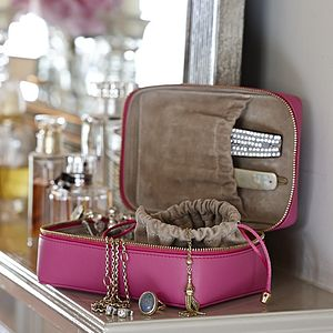 Leather Jewellery Case For Travel - 18th birthday gifts