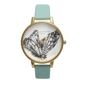 Gold Plated Animal Motif Watch In Mint