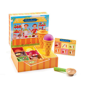 ice cream play food shop game
