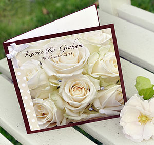 Personalised Photographic Wedding Cards - wedding cards & wrap