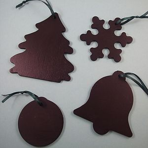 Chalkboard Christmas Decorations