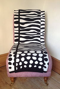 Zebra Stripes Blanket - more