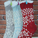 Slipper Sock Knitted Booties