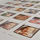 Personalised Polaroid Style Photo Cards
