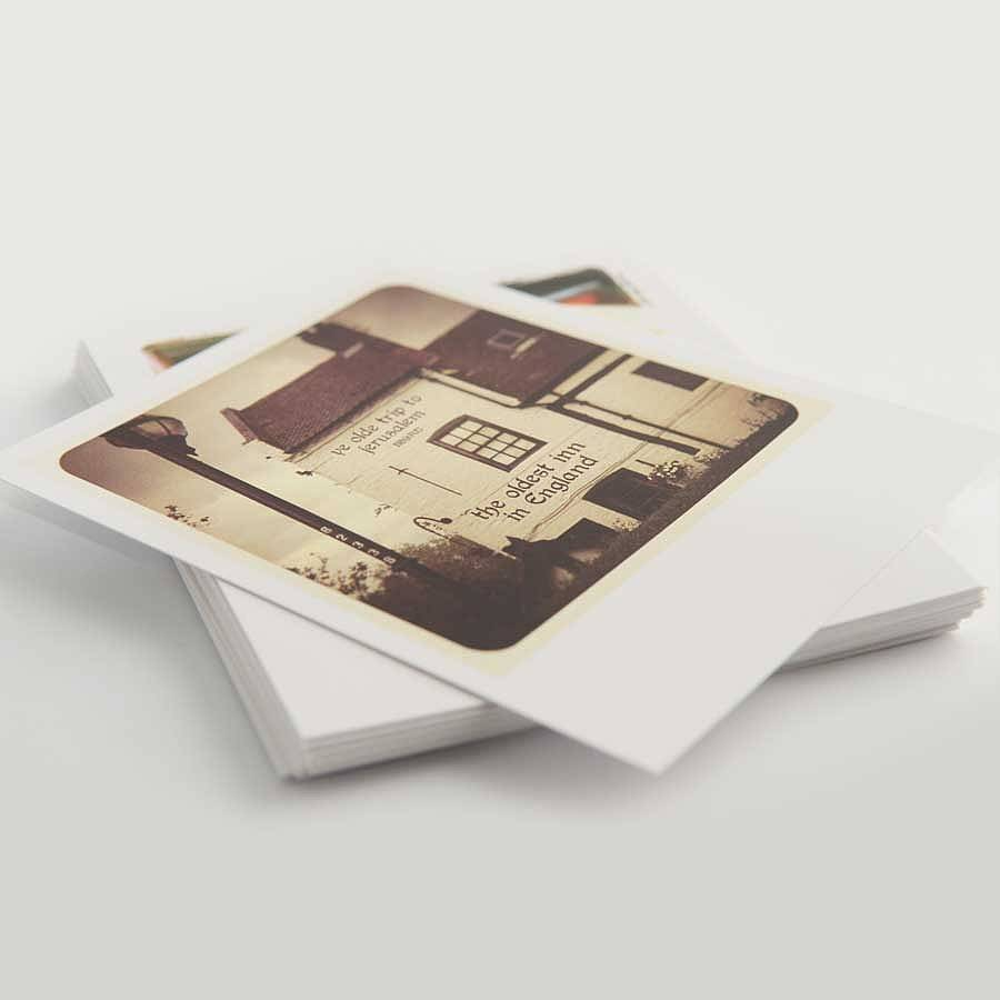Personalised Polaroid Style Photo Cards By Instajunction