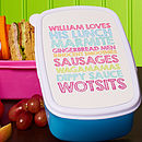 Personalised Lunchbox