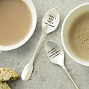 Personalised Silver Plated Teaspoon Set
