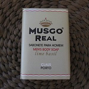 Musgo Real Men's Luxurious Body Soap Bar - nail care